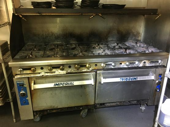 Commercial Imperial stove repair