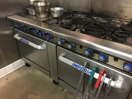 Commercial stove repair
