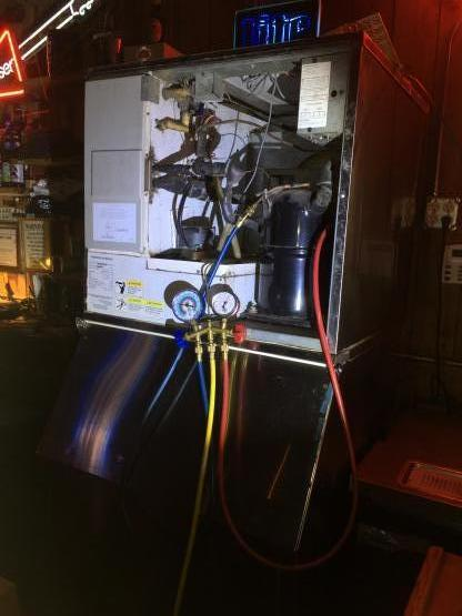 Commercial Ice machine repair image