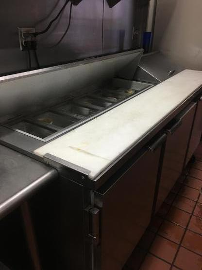 Salad bar refrigerator repair image