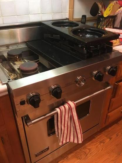 Viking Stove repair image